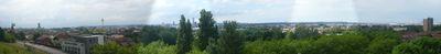 Panorama de Liverpool depuis le Everton Park