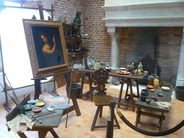 Atelier-Léonard-de-Vinci,-château-du-Clos-Lucé,-Amboise-(1)