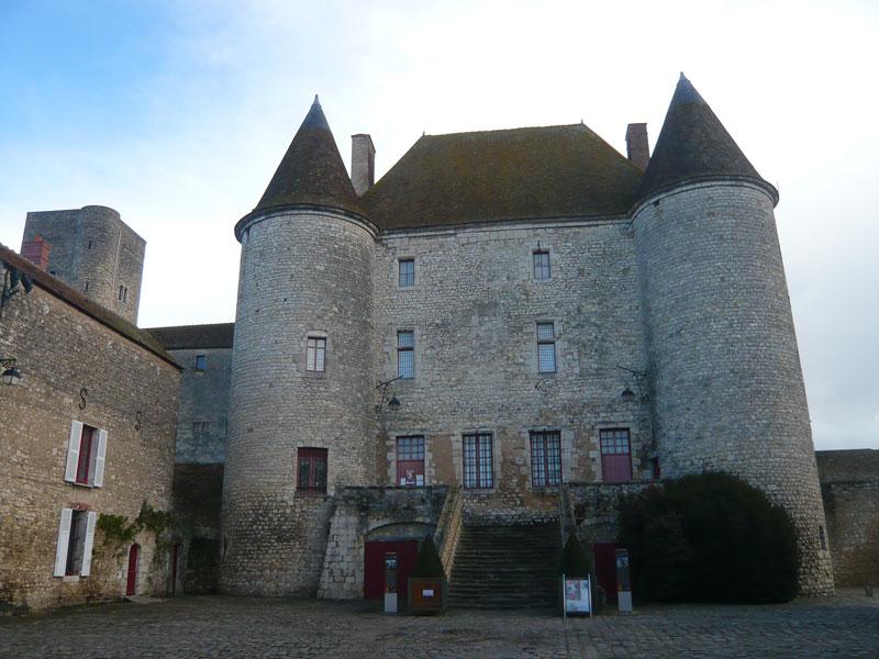 Château-musée,-Nemours