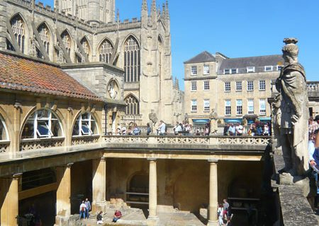 Bath : une ville thermale