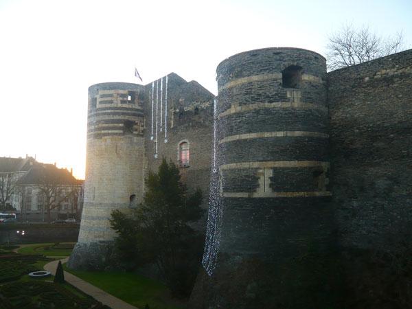 Tours-du-château-d'Angers