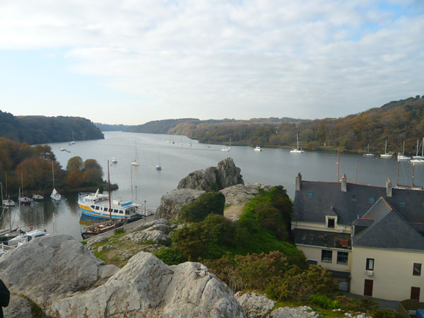 Vue-sur-l'embouchure-de-la-Vilaine,-la-Roche-Bernard-(2)