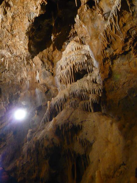 Cascade-calcaire,-Grotte-La