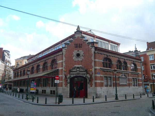 Halles-Saint-Gery,-Bruxelle