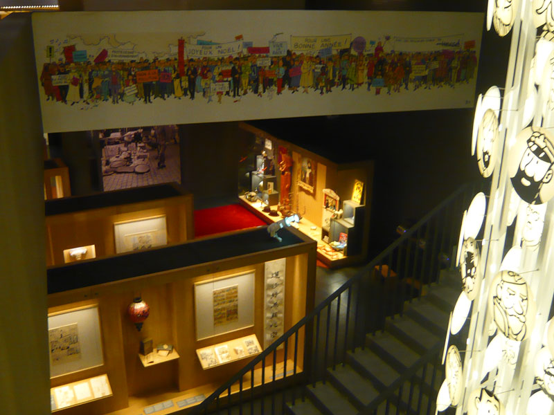 Intérieur-Musée-Hergé,Louva