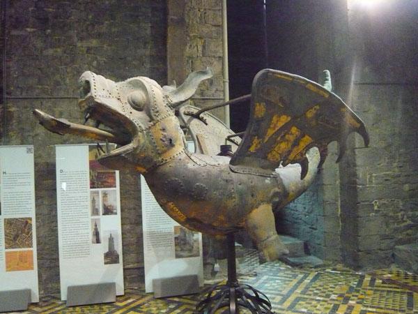 Dragon,-Beffroi,-Gand