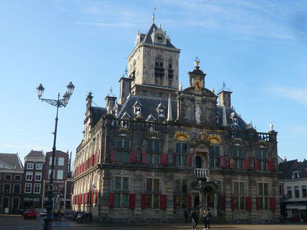Hôtel-de-ville,-Delft