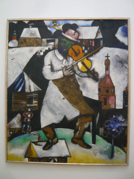 Le-violoniste,-Marc-Chagall