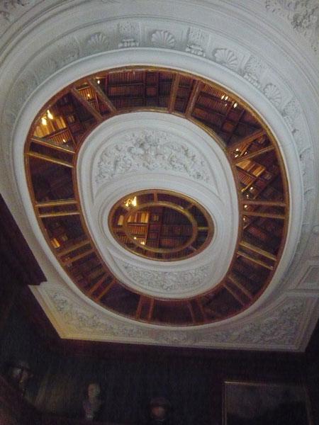Plafond-de-la-bibliothèque,
