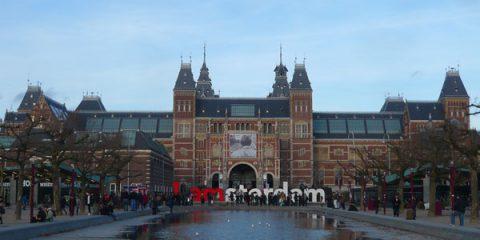Amsterdam, la réunion de l'Amstel et du Dam