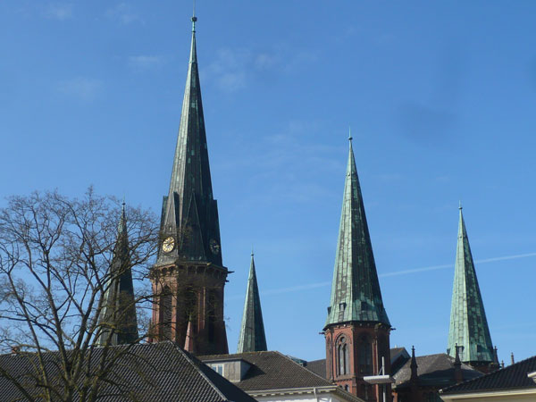 Clochers-Lambertikirche,-Ol