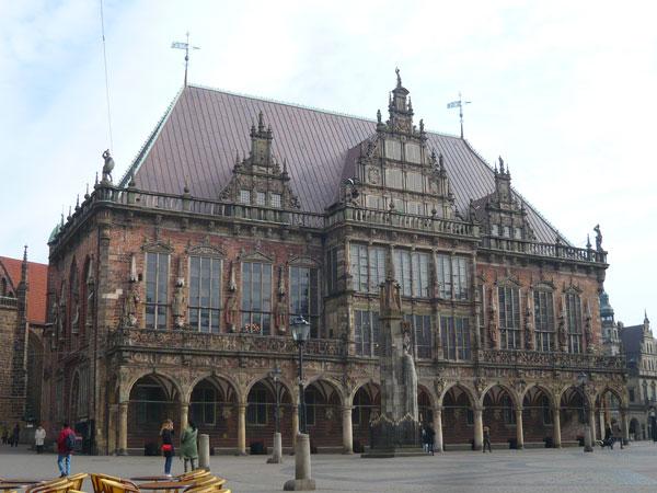 Hôtel-de-Ville,-Brême