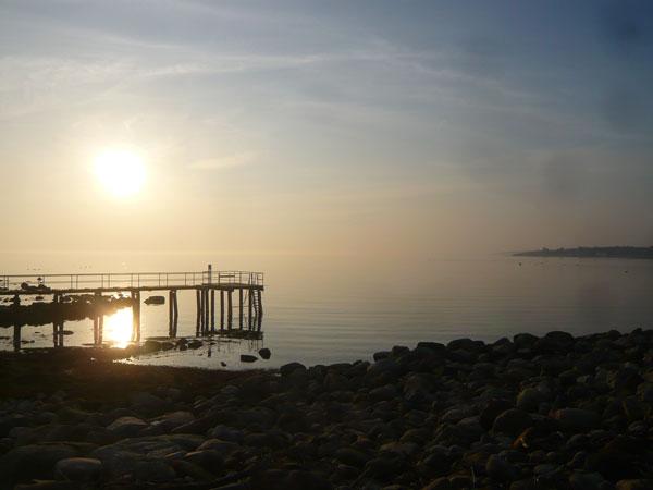 Paysage-maritime,-péninsule