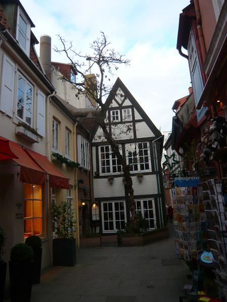 Ruelle-du-Schnoor,-Brême-(3