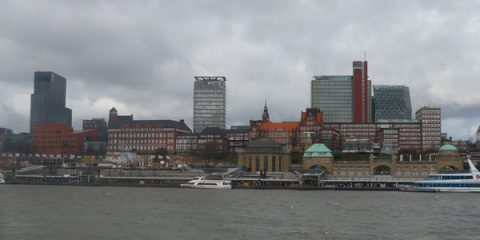 Hambourg, le nez dans la capuche
