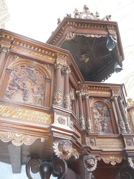 Chaire,-Cathédrale-d'Aarhus