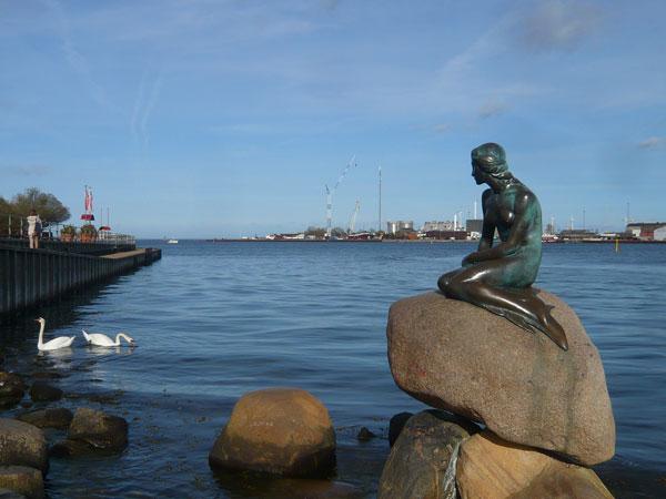 La-Petite-Sirène,-Copenhagu