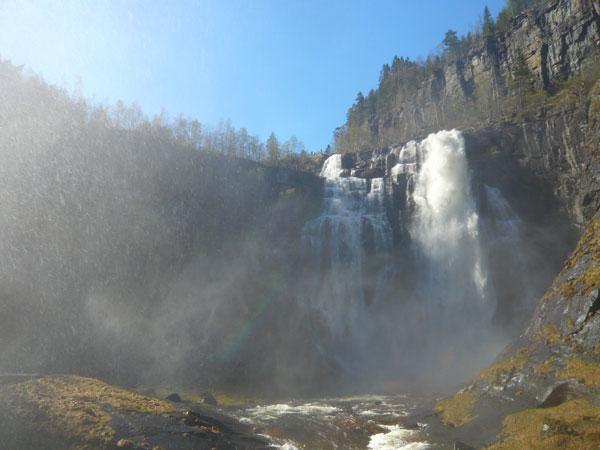 Cascade-de-la-Skjervfossen-