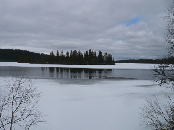Lac-gelé-Buvatnet,-Vassfarv