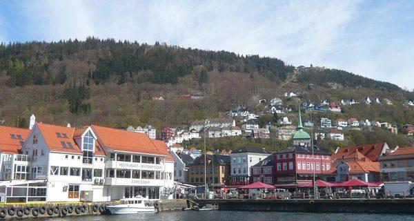 Bergen, l'arrivée en Norvège