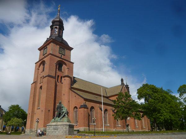 Eglise-Kristina,-Falun