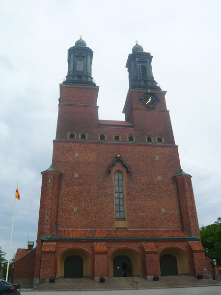 Façade-de-la-Klosters-kyrka