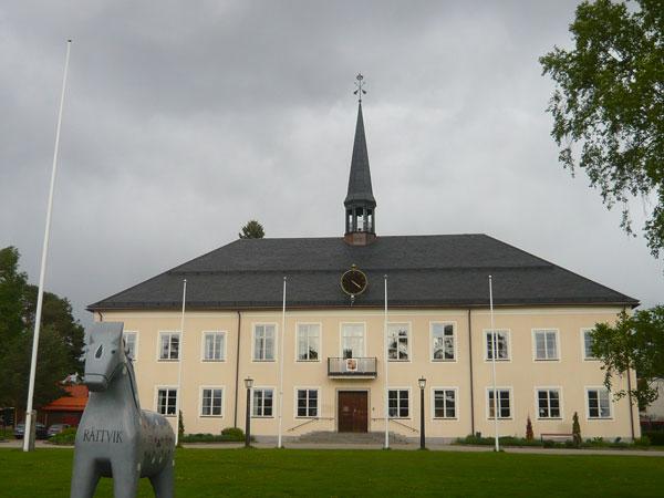 Hôtel-de-Ville,-Rättvik