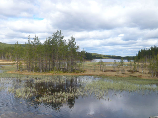Paysages-des-lacs-Glämsjön-