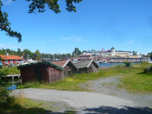 Cabanes-de-pêche,-Grissleha