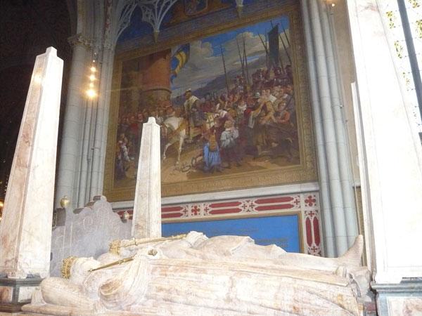 Gisants-de-Gustave-Vasa-et-
