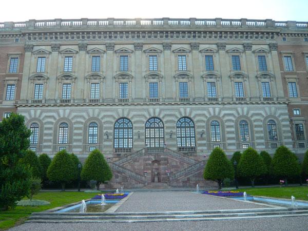 Jardin-et-facade-ouest,-Pal