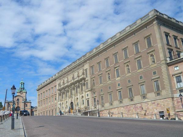 Le-palais-royal,-Stockholm