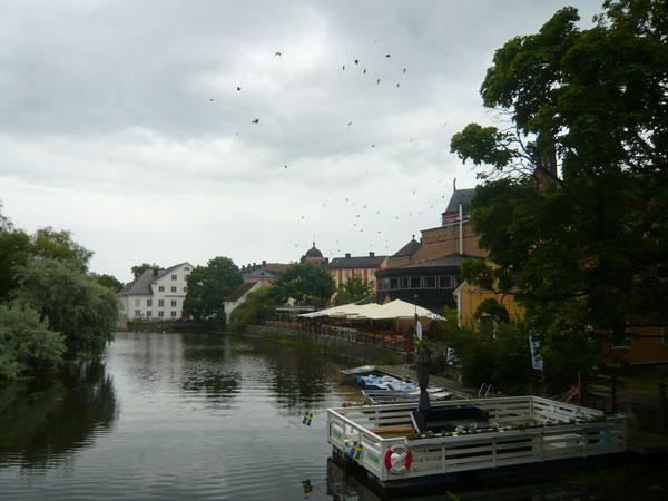 Quais-du-Fyrisan,-Uppsala