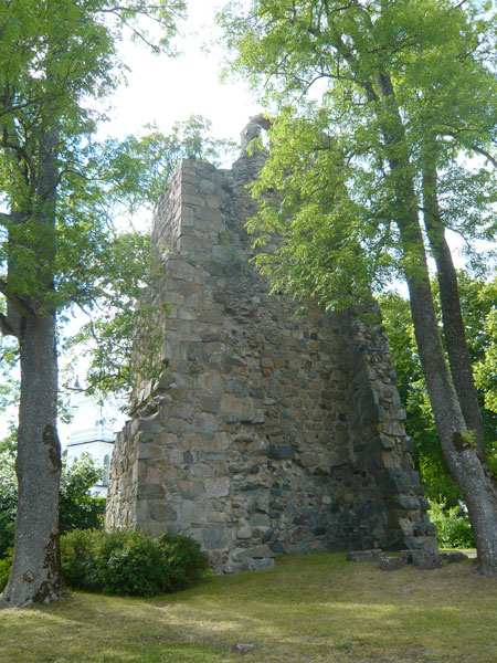 Ruine-de-l'église-St-Lars,-