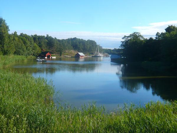 Paysage-Eckerö,-Finlande