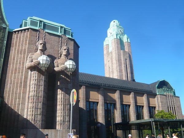 Gare-ferroviaire,-Helsinki-