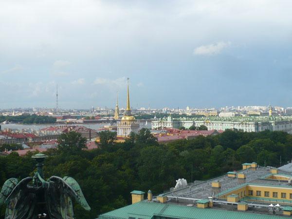 Vue-sur-Saint-Pétersbourg,-