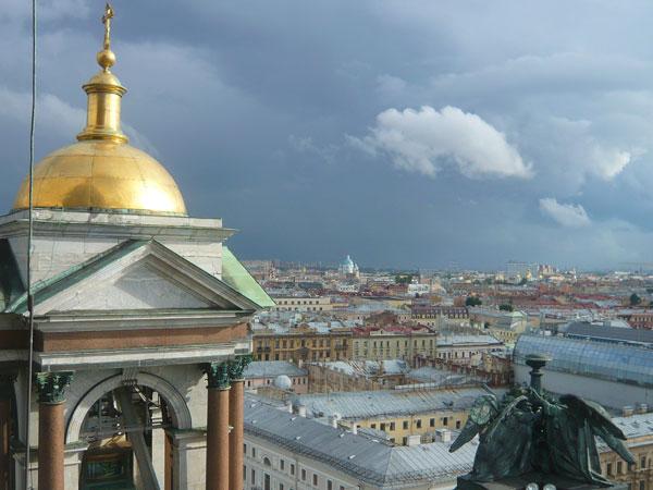Vue-surSaint-Pétersbourg-et
